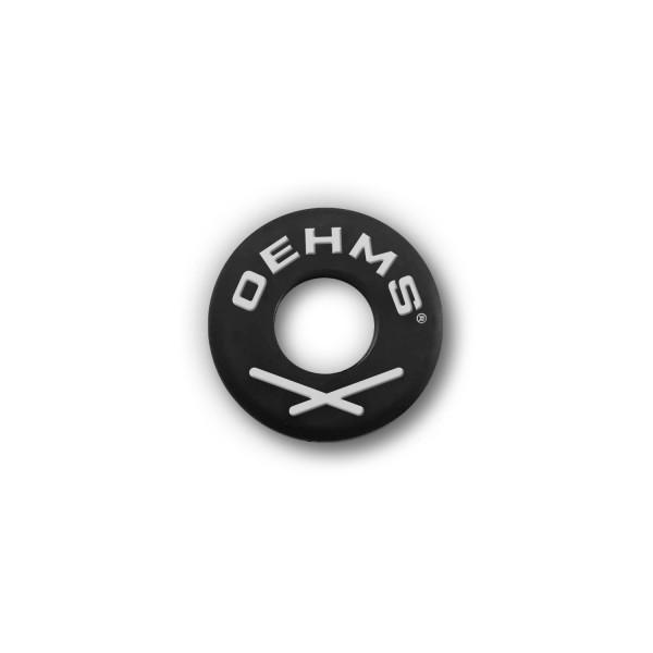 Saiten-Dämpfer O-Ring Schwarz